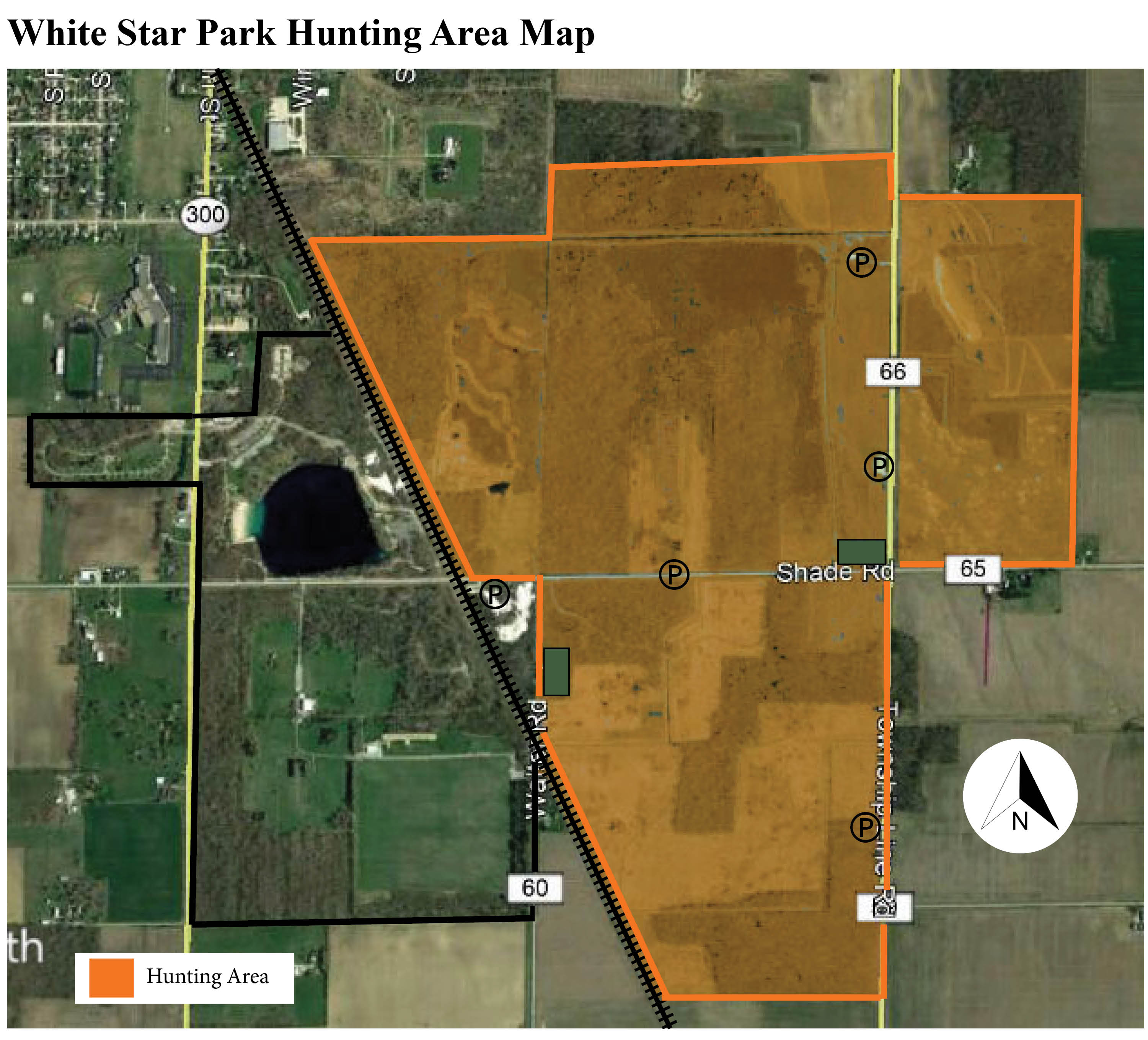 white star park hunting map