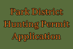 Park District Hunting Permit Application
